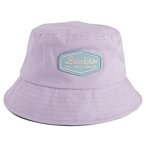 Blackskies Oasis Bucket Hat | Herren Damen Unisex Sonnenhut Fischerhut Pastell Fliederviolett-Mint