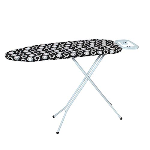 BELLAZZO Iron E Master Premium Steel Ironing Board 110 X 33 Standard - Black Circle