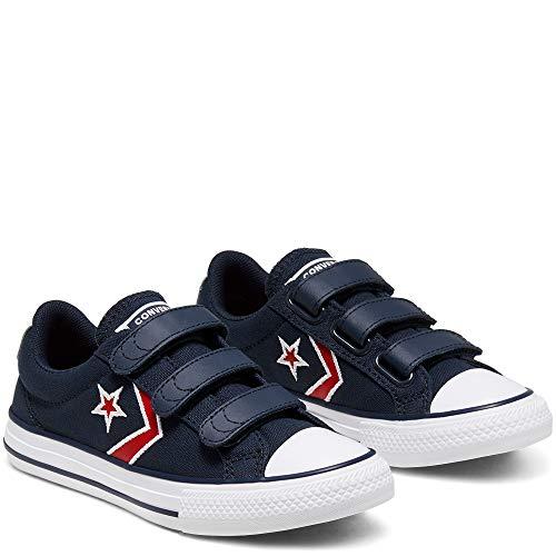 Converse Sneaker Low Star Player 3v Ox Blau Jungen - 33 EU