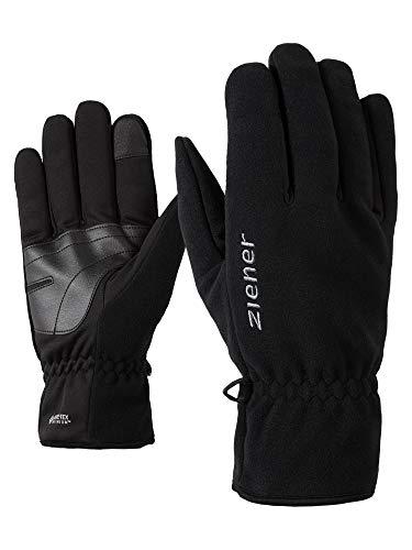 Ziener Invent GTX Inf Touch Gants Multifonctions pour Adultes | Coupe-Vent, Respirant, Noir, 8