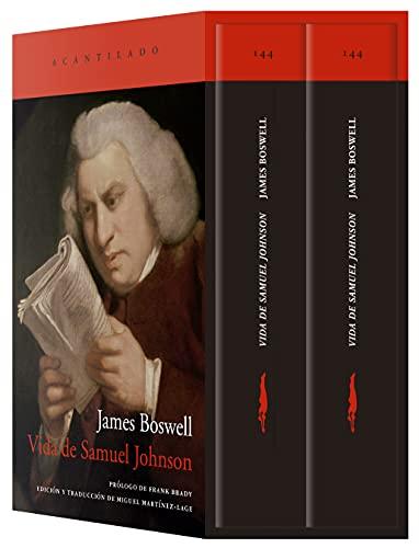 Vida de Samuel Johnson (estuche con dos volúmenes) (El Acantilado, Band 144)