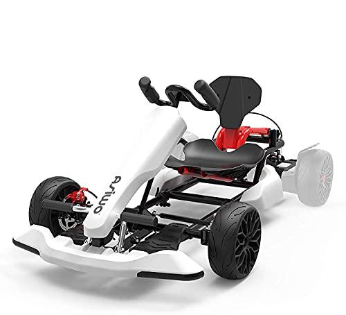 Asiwo HoverKart, Hoverboard Kart Aufsatz, GoKart Sitz Umbausatz für alle Hoverboards