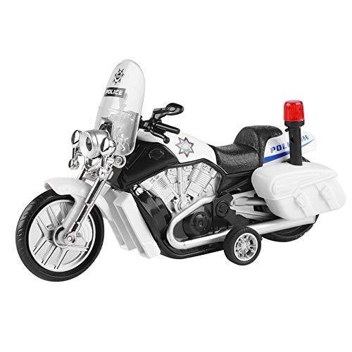 Juguete de motocicleta de aleación y plástico duradero de alta calidad, vehículo de juguete, mano de obra exquisita resistente a caídas para niños niños