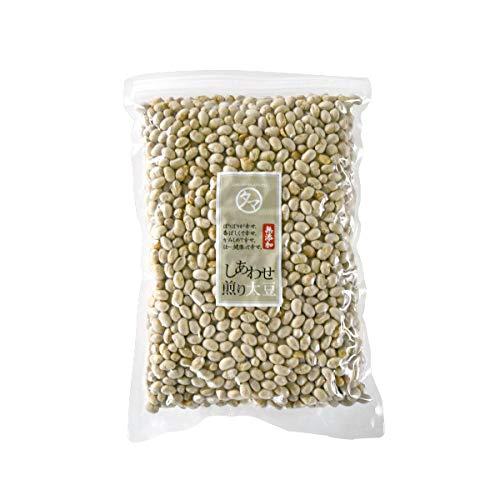 国産 煎り大豆 (無添加) 500g (250g×2袋)