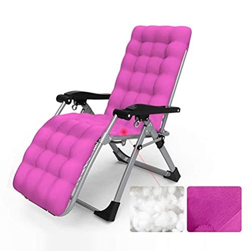N&O Renovation House Liegestühle Klappbarer Zero Gravity Lounge Chair Breiter Liegestuhl für Outdoor Beach Patio Pool Porch Garden Deck Tragbarer Stuhl Unterstützt 200 kg Blau Blau