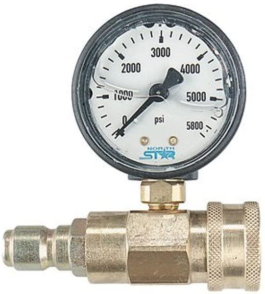 NorthStar Pressure Washer Pressure Gauge 5000 PSI 3 8in Fitting