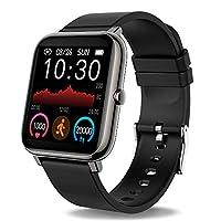 🎁【Multifunzionale】:Questo Smartwatch include funzioni più pratiche, Activity Tracker ( Contapassi , Calorie , Distanza), Cardiofrequenzimetro, 8 Modalità Sportive, Monitoraggio del Sonno, Saturimetro, Misuratore Pressione, Notifiche di Chiamata, SMS ...