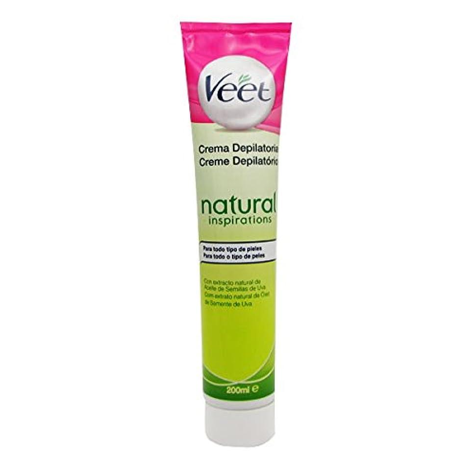 スーパーマーケット容量原油Veet Natural Inspirations Depilatory Cream 200ml [並行輸入品]