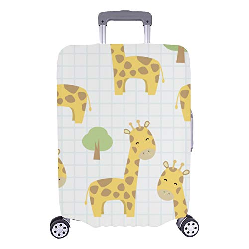 Suitcase Storage Protector Giraffe Funny Particulr Animals Durable Washable Protecor Cover Fits 28.5 X 20.5 Inch Luggage Cover Set Best Luggage Cover Luggage Cover For Kids