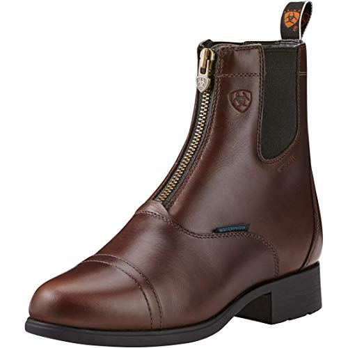 Ariat Women's Bromont Pro Zip H20 Insulated Paddock Boots 37 EU Waxed Chocolate