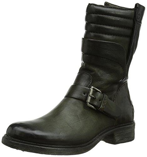 Mjus Damen 605252-5770-3814 Biker Boots, Grün (foresta+foresta+Nero), 36 EU