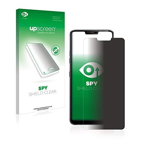 upscreen Anti-Spy Blickschutzfolie kompatibel mit LG G7 ThinQ/Plus/LG G7 Fit/One Privacy Screen Sichtschutz Bildschirmschutz-Folie