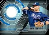 2014 Topps Trajectory Relics #TR-BZ Ben Zobrist Game Worn Jersey Baseball Card
