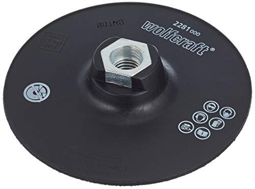 Wolfcraft 2281000 2281000-1 platillo para lijar de adherencia con Rosca M 14