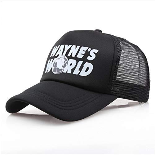 Gorra de Beisbol Sombrero del Mundo Negro Disfraz Baseball Cap del Mundo Sombreros Unisex de la Tierra Sombrero del papá del Camionero Gorra Unisex Ajustable