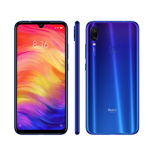 Xiaomi Redmi Note 7 4GB RAM 64GB ROM Snapdragon 660 Octa Core 4000mAh Blue UK