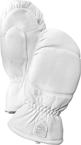 Hestra Winter-Skihandschuhe, für Herren und Damen, Lederkoffer, Off-White, 8