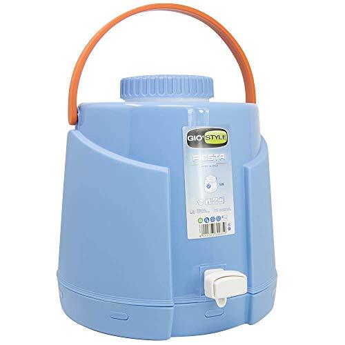GiòStyle Dispenser Termico con Rubinetto Thermos Bottiglia 5 Litri Erogatore Acqua Bevande...