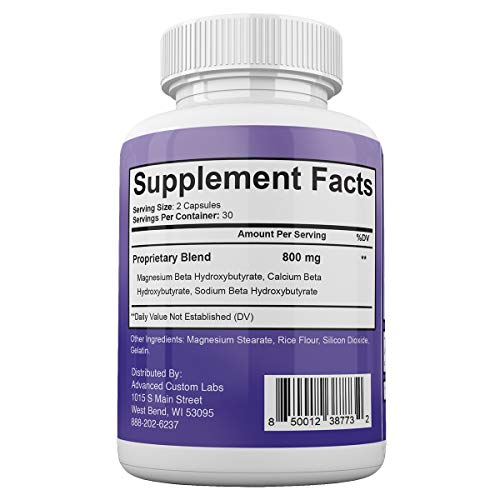Keto BHB Real - Advanced Weight Loss with Metabolic Ketosis Support - 180 Capsules - 90 Day Supply 3