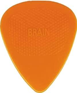 D'Andrea Snarling Dog Brain Nylon Guitar Picks 72 Pack Refill (Orange, 1.14mm)