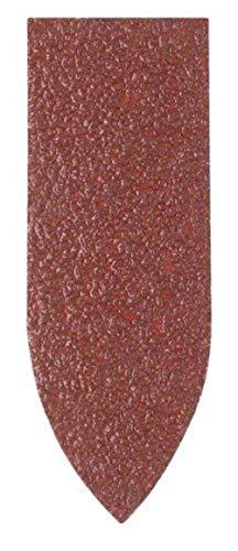 Bosch 2 609 256 A39 - Juego de hojas de lija de 5 piezas para lijadora Delta, adaptador