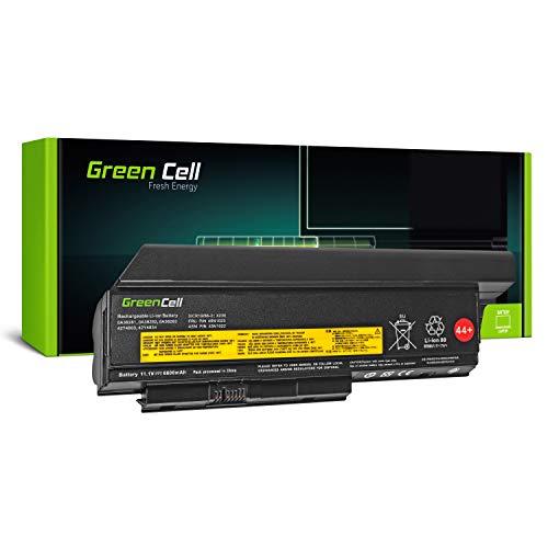 Green Cell Extended Serie Laptop Akku für Lenovo ThinkPad X230 X230i, Ersetzt Lenovo Akkus: 0A36306 0A36307 45N1022 45N1023 45N1026 45N1028 45N1029 45N1175 (9 Zellen 6600mAh 11.1V Schwarz)