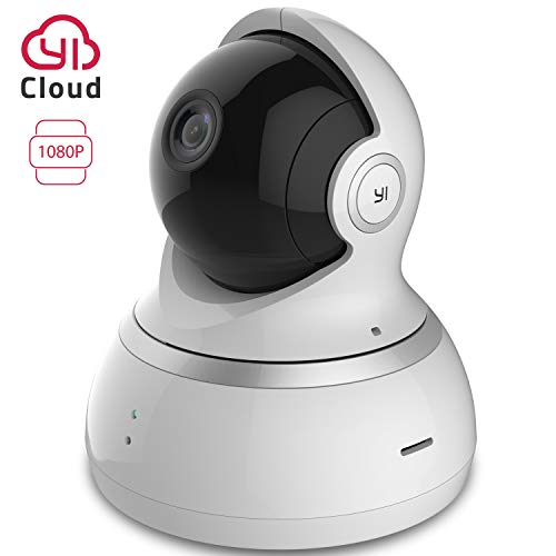 YI Telecamera Sorveglianza 1080p Interno Ip Camera Wifi Compatibile con Alexa,Notifiche push in tempo reale,Copertura a 360°in FHD,Funzioni Personalizzate Auto Crociera,Segnalibri per iOS,Android