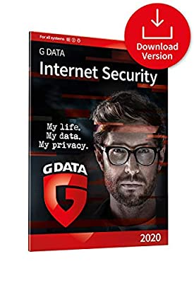 G DATA Internet Security 2020 | 3 Devices - 1 Year | Antivirus Protection Software for Windows, Mac & Android | Download