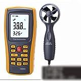 ViewSys Anemómetro, Digital Viento del anemómetro de Velocidad de Aire de medición de Volumen del Equipo (en Color
