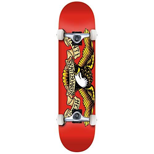 Anti Hero Skateboard completo Team Eagle Red 7.5'