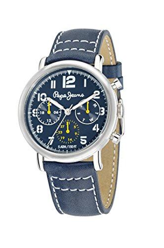 Pepe Jeans Reloj analogico para Hombre de Cuarzo con Correa en Piel R2351105005