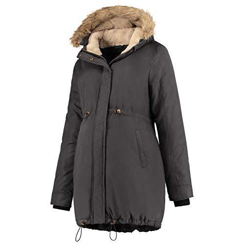 Prénatal Winterjacke für Schwangere Schwarz Größe L