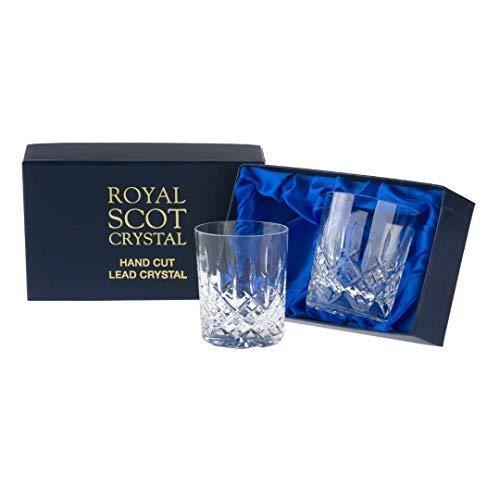 2Royal Scot Große Whisky Gläser–London–PRÄSENTATION Box