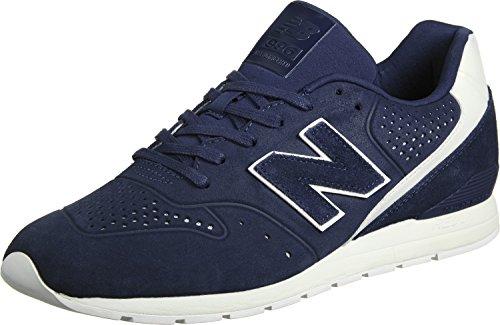 New Balance 996 Leather, Zapatillas Hombre, Azul (Navy), 40.5 EU