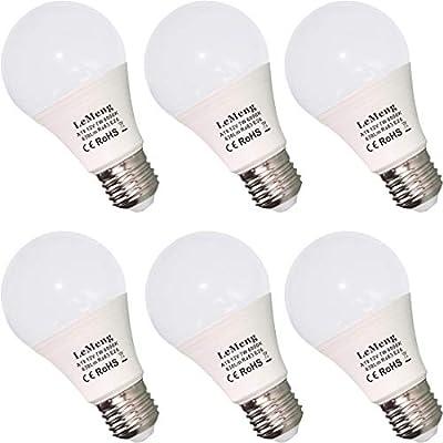 12V LED Bulb E26 7W 630Lm 12 Volt Low Voltage Lights AC/DC 11-16V E27 A19 Edison Lamp(3000K Warm White)40-60 Watt Bulbs Equivalent-12volt - 6 Pack