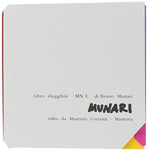 Libro illeggibile «MN 1» (Opera Munari)