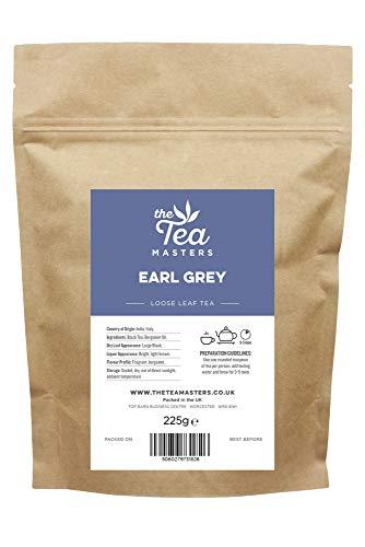 The Tea Masters Hojas Sueltas de Té de Earl Gray 255g