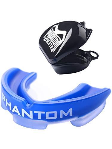 Phantom Athletics - Paradenti Sportivo per Arti Marziali, Boxe, Adulti, Blu, Taglia Unica