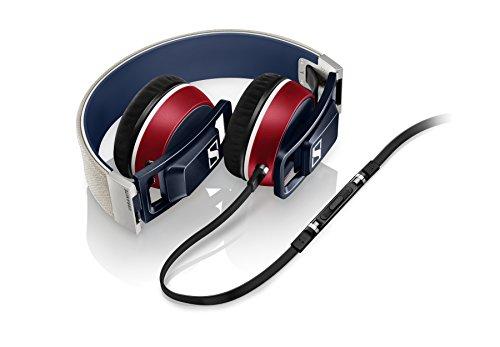 Sennheiser Urbanite Nation On-Ear Kopfhörer (für iPhone/iPad/iPod) blau/rot