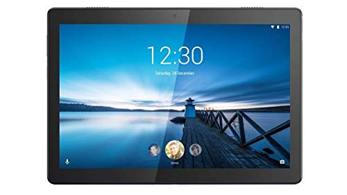 Lenovo TAB M10 Tablet, Display 10.1' HD, Processore Qualcomm Snapdragon 429, 32GB espandibili fino a 128GB, RAM 2GB, WiFi, Android Oreo, Nero