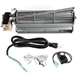 Mr. KAN Standard Sized BLOT Replacement Fireplace Blower Fan KIT for Monessen, Hearth Systems, Martin, Majestic, Hunter Fireplaces, Cozy Heater Propane Vent Free