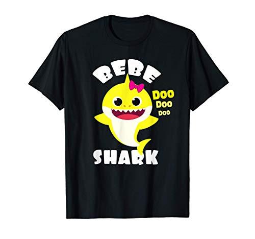 Regalo de tiburón bebé - Camisa de Regalo para Bebe y Mama Camiseta