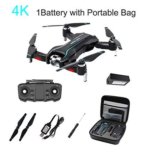 SMUOO Faltbare Drohne Mit Gesten-Video HD-Einstellungskamera,Positionierung Optischen Flusses,Quadrocopter Luftaufnahmen,Geschenke Weihnachtsgeburtstags-Flying-Party,Mehrere Batterien,1battery