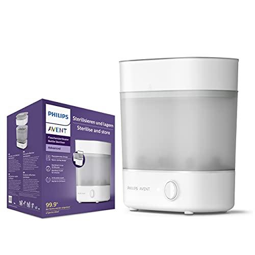 Philips Avent Scf291/00 - Esterilizador Eléctrico 2 en 1, 1.78 Kg, Color, Unisex, Blanco