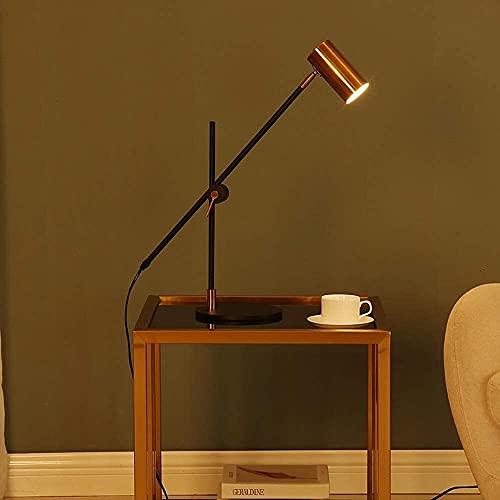 nakw88 Lámpara Escritorio Lámpara de Mesa Moderna Sala de Estar Creativa lámpara de Dormitorio de Oficina lámpara de Lectura de Escritura de Escritorio de Estudio de Personalidad Simple
