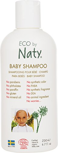 Eco by Naty, baby shampoo 200 ml fles