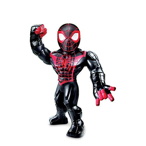 Super Hero Adventures Playskool Heroes Mega Mighties Marvel Kid Arachnid, Collectible 10-Inch Action Figure, Toys for Kids Ages 3 and Up