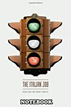 Notebook: Alternative Movie Poster The Italian Job , Journal for Writing, College Ruled Size 6
