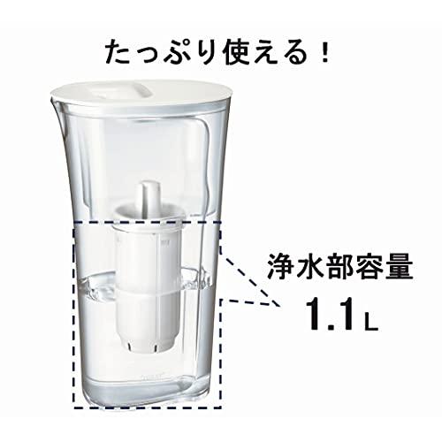 東レトレビーノポット型浄水器PT302SV【高除去+時短浄水】標準タイプ1.1L