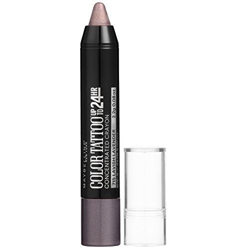 Maybelline New York Eyestudio ColorTattoo Concentrated Crayon,715 Lavish Lavender, 0.08 oz.